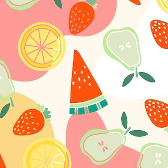 Kolorowy wzór lato