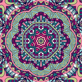 Kolorowy wzór mandali.