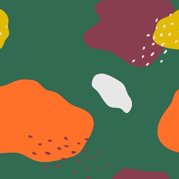 Kolorowy wzór wektor wzór memphis