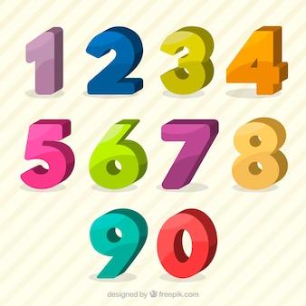 Kolorowy zbiór liczb