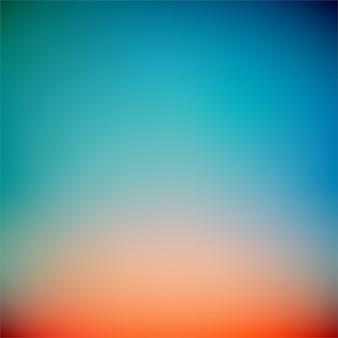 Kolorowy zmierzch gradientowy wektorowy tło