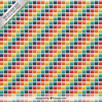 Kolorowych kwadratów w tle