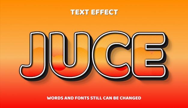 Komiczny edytowalny efekt tekstowy