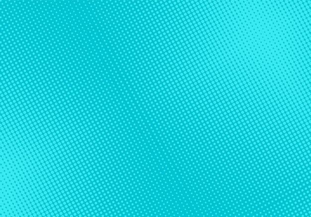 Komiks półtonów. tło pop-artu. turkusowa tekstura półtonów. efekt powitalny kreskówek