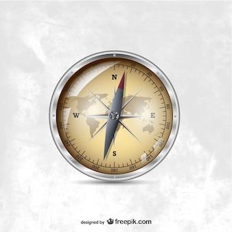 Kompas ilustracji wektorowych