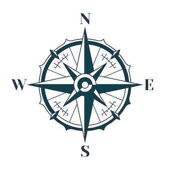 Kompas róża wiatrów