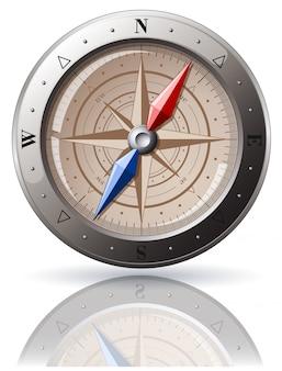 Kompas stalowy