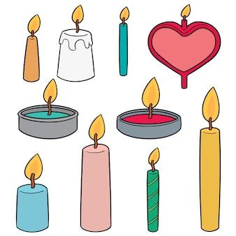Komplet świecy
