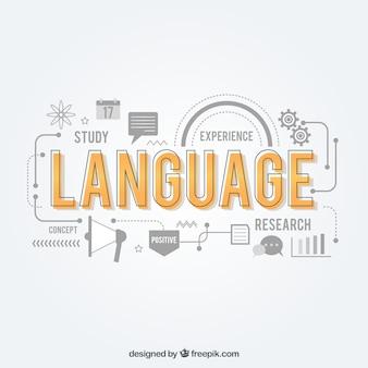 Kompozycja językowa o płaskiej konstrukcji