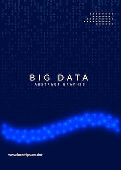 Komputer innowacji kwantowej. technologia cyfrowa. sztuczna inteligencja, głębokie uczenie i koncepcja big data. wizualizacja techniczna dla szablonu komunikacji. nowoczesna innowacja kwantowa komputer tło.