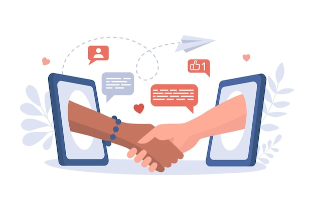 Komunikacja, rozmowa i przyjaźń w internecie
