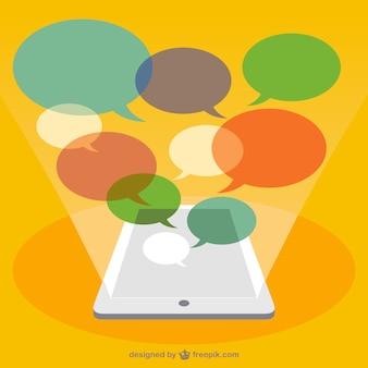 Komunikacji mobilnej wektor