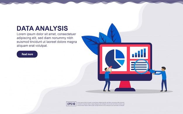 Koncepcja analizy danych na stronie docelowej.