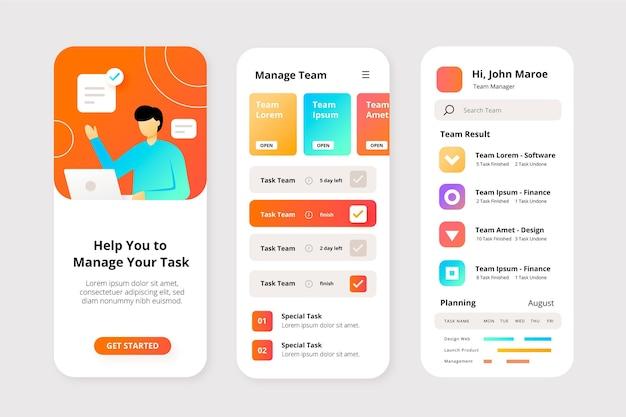 Koncepcja aplikacji do zarządzania zadaniami