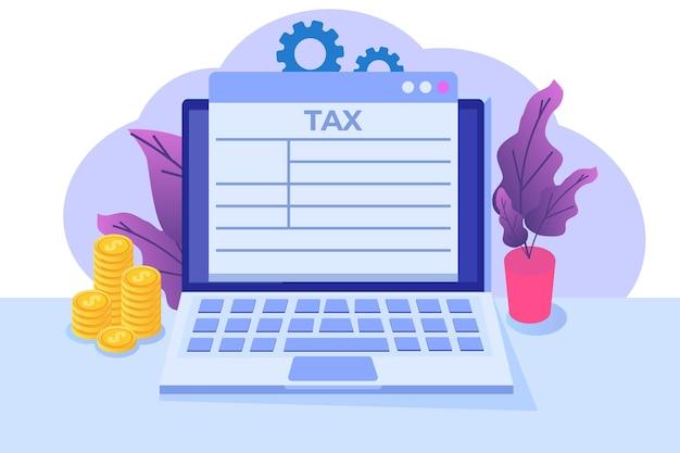 Koncepcja aplikacji płatności podatku online