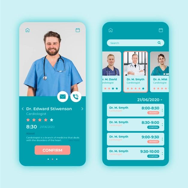 Koncepcja aplikacji rezerwacji medycznej