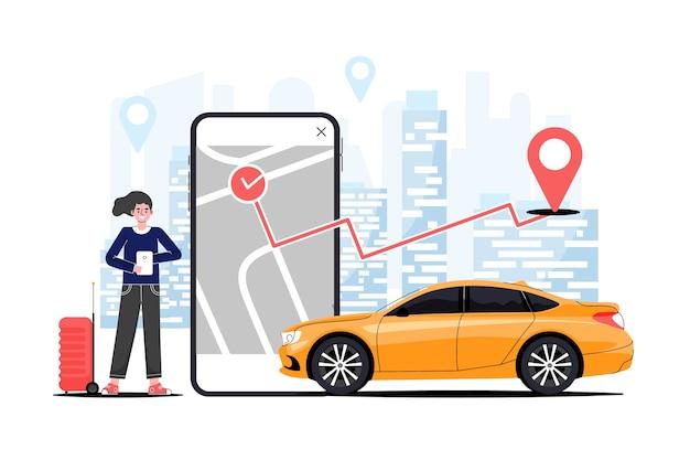 Koncepcja aplikacji taxi