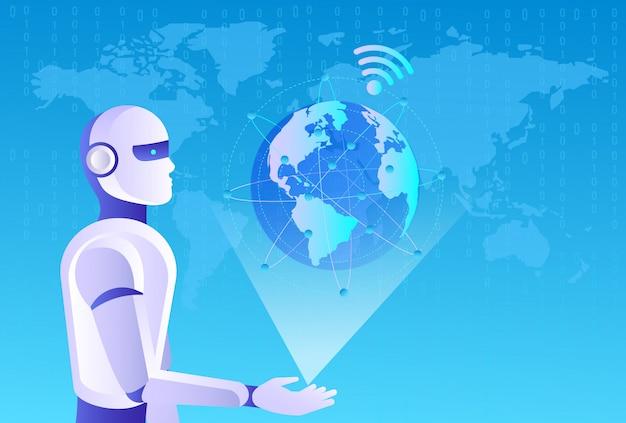 Koncepcja ay. robot wi-fi