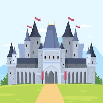 Koncepcja bajkowego zamku