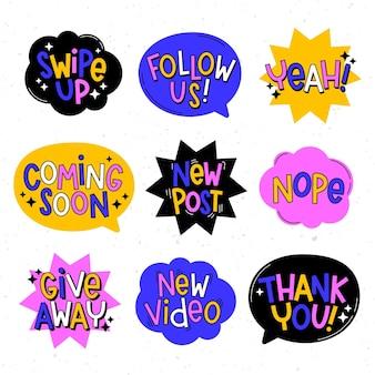 Koncepcja bańki slang mediów społecznościowych