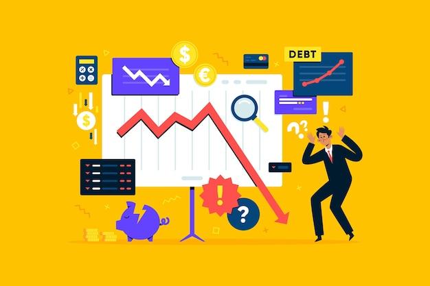 Koncepcja bankructwa płaska konstrukcja