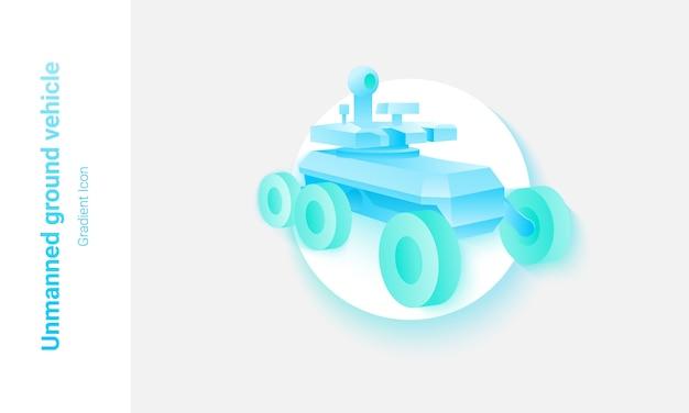 Koncepcja bezzałogowego pojazdu naziemnego