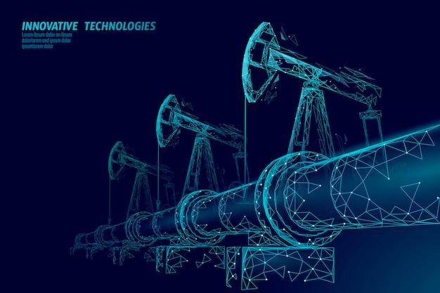 Koncepcja biznesowa rurociągu naftowego.