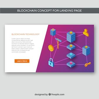Koncepcja Blockchain dla strony docelowej
