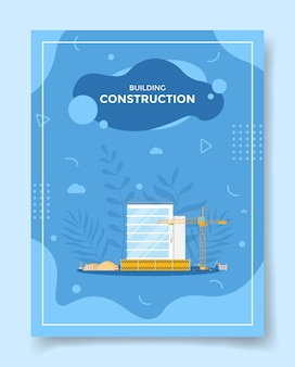 Koncepcja budowy budynku dla szablonu