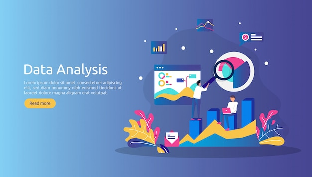 Koncepcja cyfrowej analizy danych do badań rynku i cyfrowej strategii marketingowej.