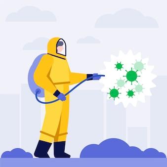Koncepcja dezynfekcji wirusów