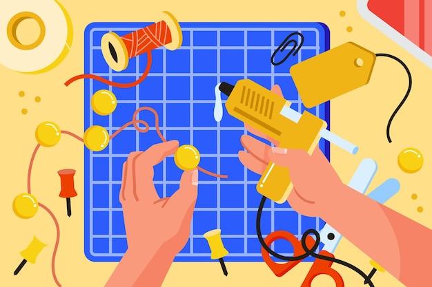 Koncepcja diy kreatywnych warsztatów