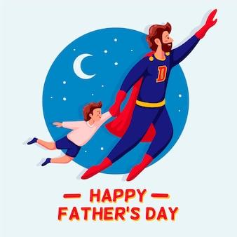 Koncepcja dnia ojca