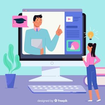 Koncepcja edukacji online