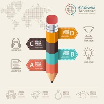 Koncepcja Edukacji Premium Wektorów