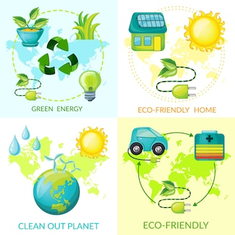 Koncepcja ekologii kreskówka