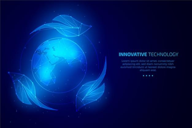 Koncepcja ekologii technologicznej z liści i świata