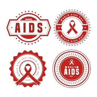 Koncepcja etykiet światowego dnia pomocy