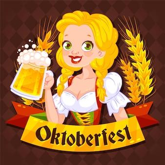 Koncepcja festiwalu płaski oktoberfest
