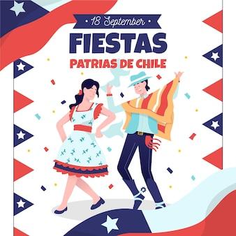 Koncepcja fiestas patrias de chile