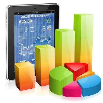 Koncepcja finansowa, zarabiaj w internecie