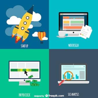 Koncepcja firmy internetowe