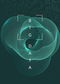 Koncepcja głębokiego uczenia się. technologia cyfrowa streszczenie tło. sztuczna inteligencja i big data. wizualizacja techniczna dla szablonu informacji. futurystyczne tło uczenia głębokiego.