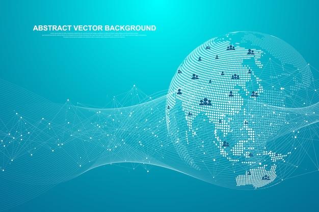 Koncepcja globalnego połączenia sieciowego