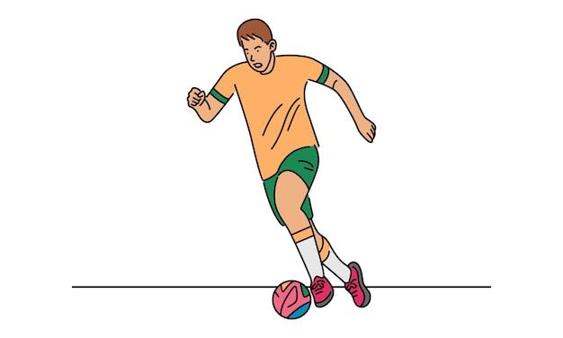 Koncepcja gracza piłki nożnej