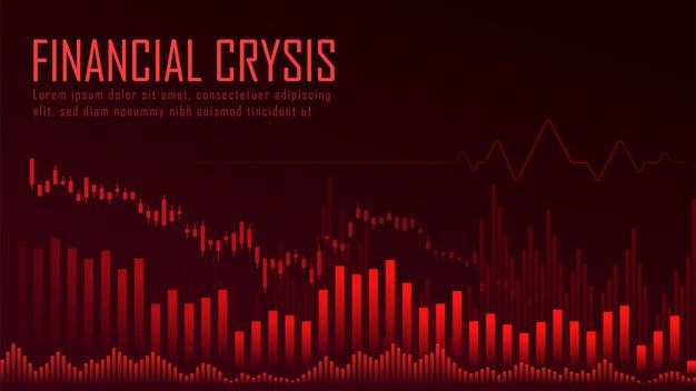 Koncepcja graficzna finansowego crysis