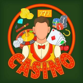 Koncepcja gry kasynowe, styl kreskówki