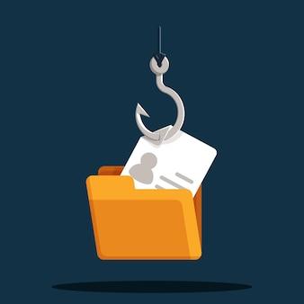 Koncepcja haczyka na konto phishingowe