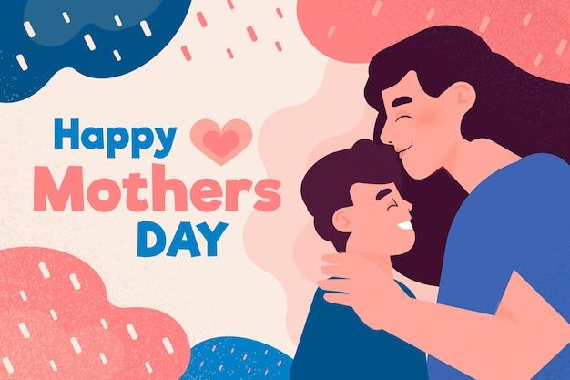 Koncepcja ilustrowany dzień matki