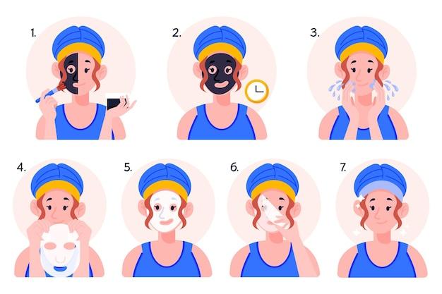 Koncepcja instrukcji maski w płachcie